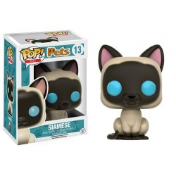 FIGURA POP PETS CATS: SIAMESE