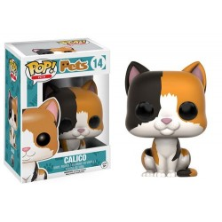 FIGURA POP PETS CATS CALICO