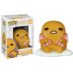FIGURA POP GODETAMA LAZY EGG: GUDETAMA WITH BACON