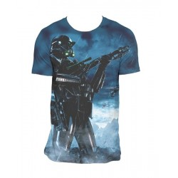 CAMISETA STAR WARS ROGUE ONE DEATH POSE M