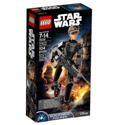LEGO FIGURAS STAR WARS SERGEANT JYN ERSO