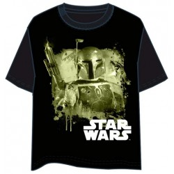 CAMISETA STAR WARS BOBA FETT L