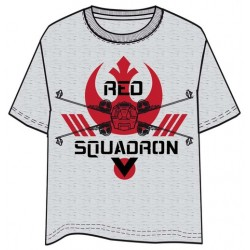 CAMISETA STAR WARS ROGUE ONE RED SQUADRON L
