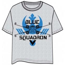 CAMISETA STAR WARS ROGUE ONE BLUE SQUADRON M