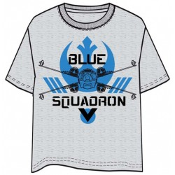 CAMISETA STAR WARS ROGUE ONE BLUE SQUADRON S