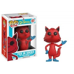 FIGURA POP BOOKS DR. SEUSS FOX IN SOCKS