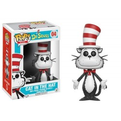 FIGURA POP BOOKS DR. SEUSS CAT IN THE HAT