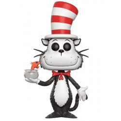 FIGURA POP BOOKS: DR. SEUSS CAT IN THE HAT /FISH