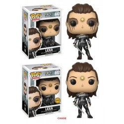 CAJA FIGURA POP THE 100 LEXA (6) CON CHASE