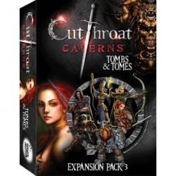 CUTTHROAT CAVERNS TOMBS & TOMES (INGLES)