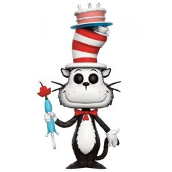 FIGURA POP DR. SEUSS: CAT IN THE HAT CAKE/UMBRELLA