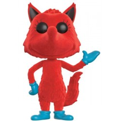 FIGURA POP DR SEUSS: FOX IN SOCKS FLOCKED