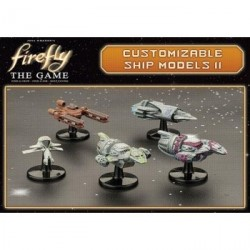 FIREFLY THE GAME EXPANSION SHIP MODELS 2 (INGLES)
