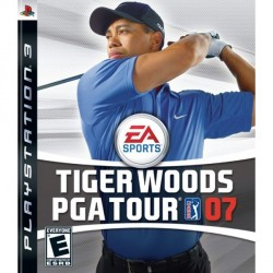 TIGER WOODS PGA TOURS 07 PS3
