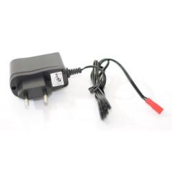 CARGADOR NIMH 6V-7.2V A 220 650MHA LENTO C/ CONECTOR BEC