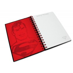 LIBRETA SUPERMAN GRAPHIC