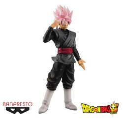 FIGURA BANPRESTO DRAGON BALL GOKU SS ROSE 28 CM