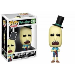 FUNKO POP RICK & MORTY: MR.POOPY BUTTHOLE DAMAGED