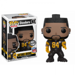 FUNKO POP NFL: ANTONIO BROWN COLOR