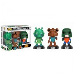 FUNKO POP PACK STAR WARS: GREEDO,HAMMERHEAD & WALRUS