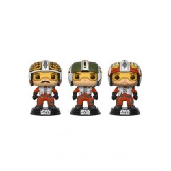 FIGURA POP STAR WARS 3 PACK PILOTS