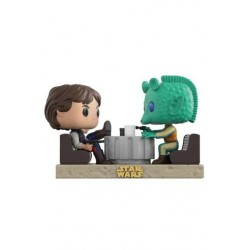 FIGURA POP STAR WARS DUELS HAN SOLO & GREEDO