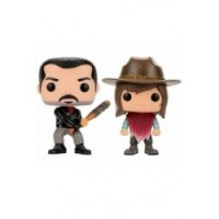 FIGURA POP WALKING DEAD PACK: NEGAN & CARL