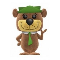 FIGURA POP HANNA BARBERA: YOGI BEAR FLOCKED