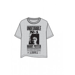 CAMISETA HARRY POTTER UNDESIRABLE Nº1 XXL
