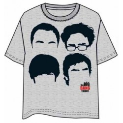 CAMISETA BIG BANG THEORY FACES L