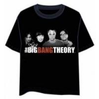 CAMISETA BIG BANG THEORY GROUP XL