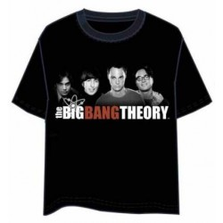 CAMISETA BIG BANG THEORY GROUP XXL