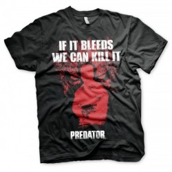 CAMISETA PREDATOR IF IT BLEEDS L