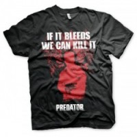 CAMISETA PREDATOR IF IT BLEEDS M