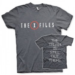 CAMISETA X FILES LOGO L
