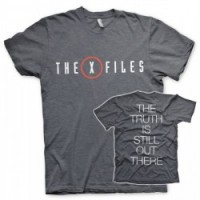 CAMISETA X FILES LOGO M