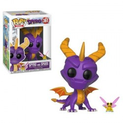 FIGURA POP SPYRO THE DRAGON: SPYRO & SPARKS