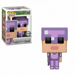 FIGURA POP MINECRAFT: ALEX ENCHANTED ARMOR