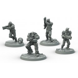 FALLOUT WASTELAND WARFARE: BROTHERHOOD STEEL C (INGLES)