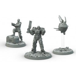 FALLOUT WASTELAND WARFARE: BROTHERHOOD OF STEEL KNIGHT-CAPTAIN CADE, PALADIN DANSE (INGLES)