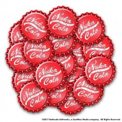 FALLOUT WASTELAND WARFARE: NUKA COLA CAPS SET (INGLES)