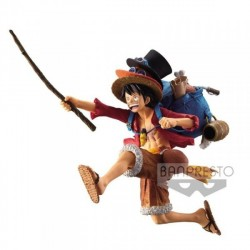FIGURA BANPRESTO ONE PIECE LUFFY BACKPACK 11 CM