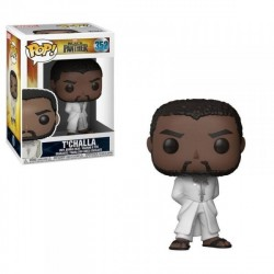 FIGURAS POP BLACK PANTHER: T`CHALLA WHITE