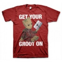 CAMISETA GUARDIANES DE LA GALAXIA GROOT ON L