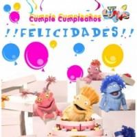 LOS LUNNIS CUMPLE CUMPLEAÑOS DVD + CD