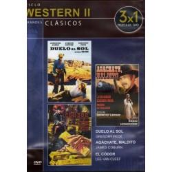 Ciclo Western II ( Duelo al Sol, ¡Agachate Maldito!, El Condor)