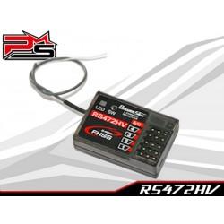 Receptor compatible Sanwa M12S / M12 / MT-44 / MT-4S / MT-S / MT-4 / M17 / M11x FHSS PowerStar RS472HV