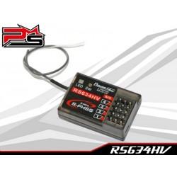 Receptor compatible Futaba 3PV / 4PV / 4PX / 7PX S-FHSS PowerStar RS634HV