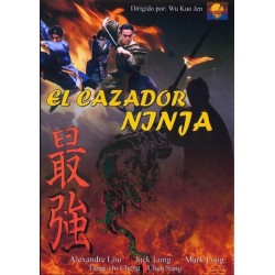 EL CAZADOR NINJA dvd