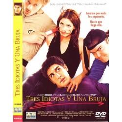 TRES IDIOTAS Y UNA BRUJA DVD